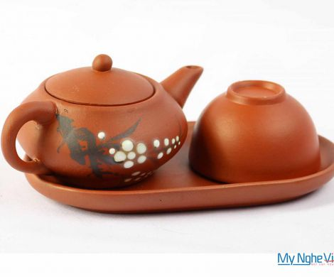 The single – cup ceramic tea set MNV-TS047