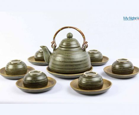 Crackle glaze teapot set MNV-TS055