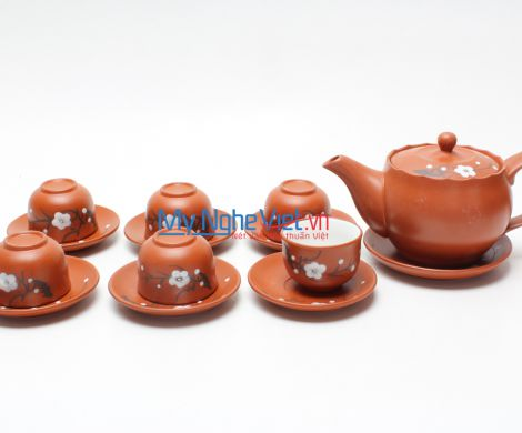Zisha tea set MNV-TS370