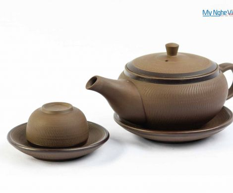 The single – cup ceramic tea set MNV-TS049-2