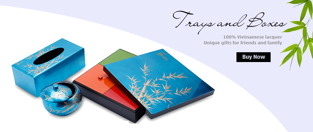 Lacquer Trays and Boxes