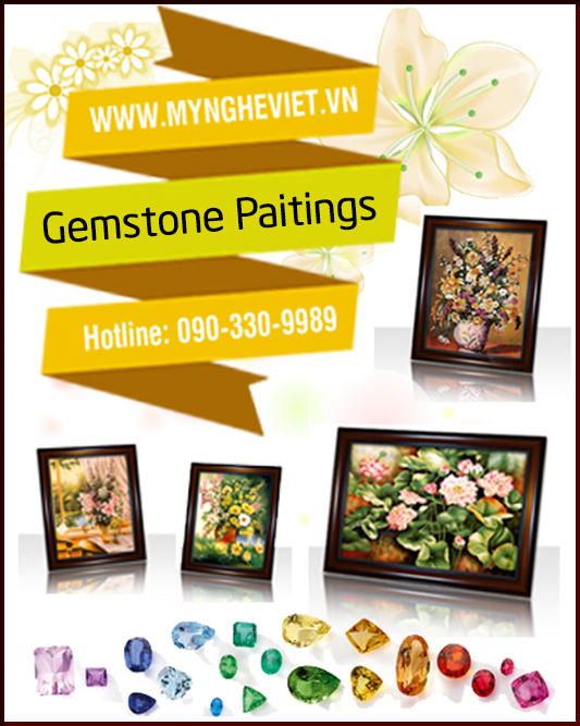 Gemstone Painting