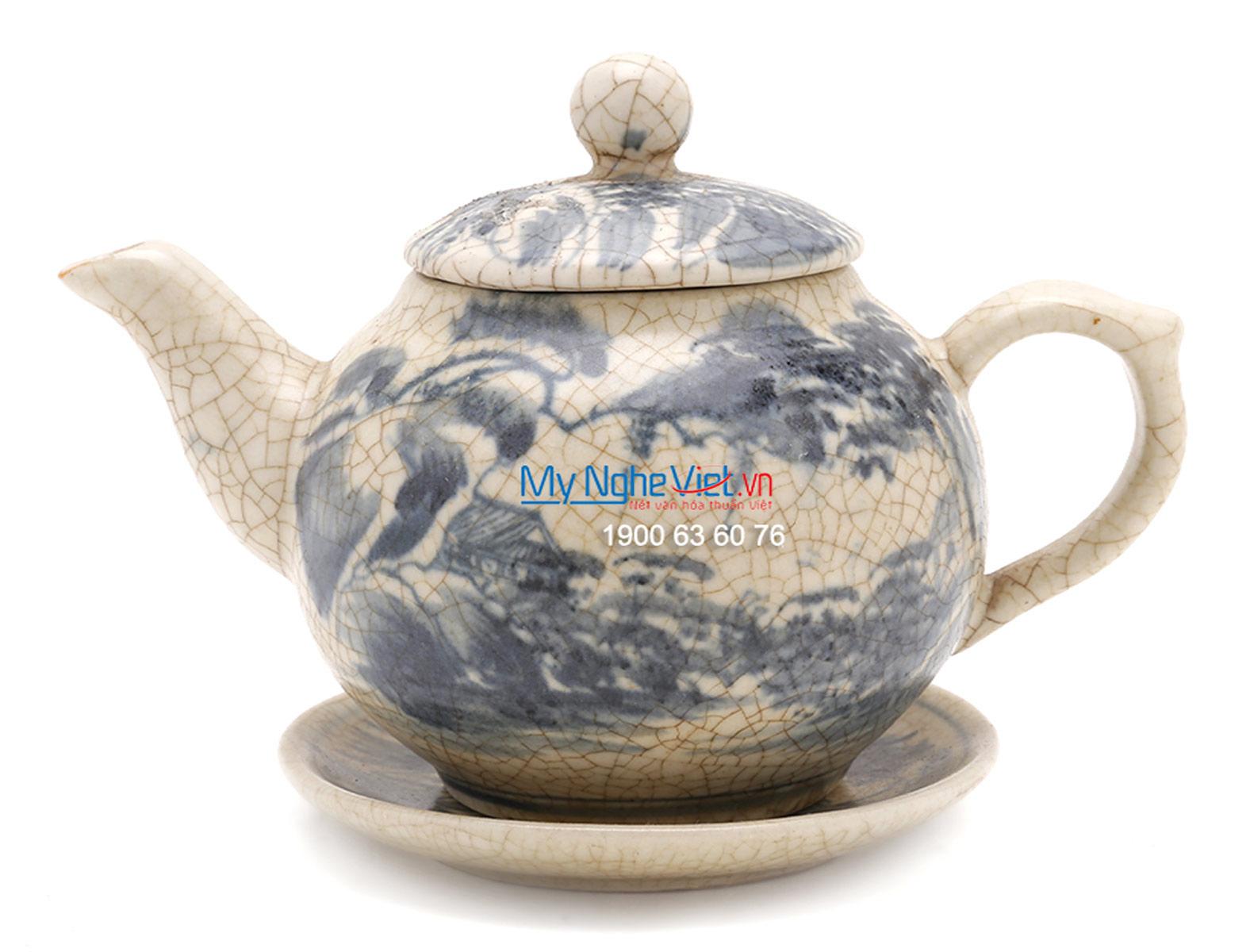 Tea Set with Crackle Glaze (small size) MNV-TS160-1