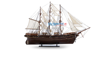 Ship Model And Wooden Boats