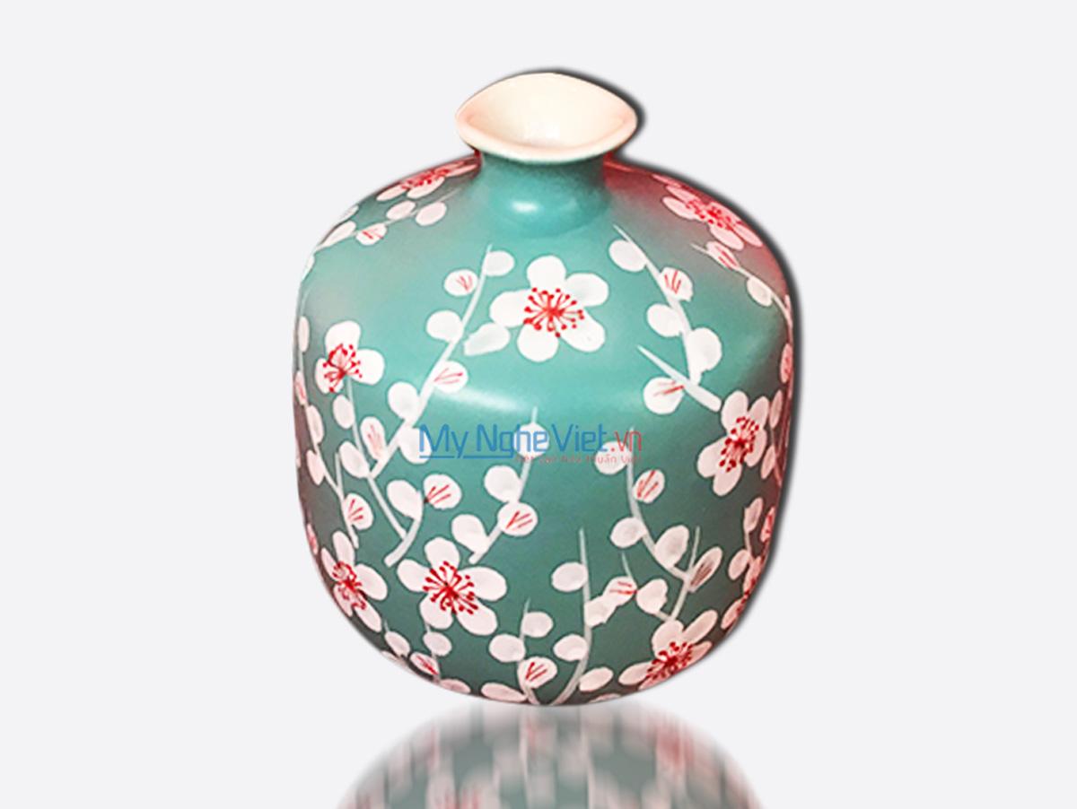Hand Painted Flower Vase 6