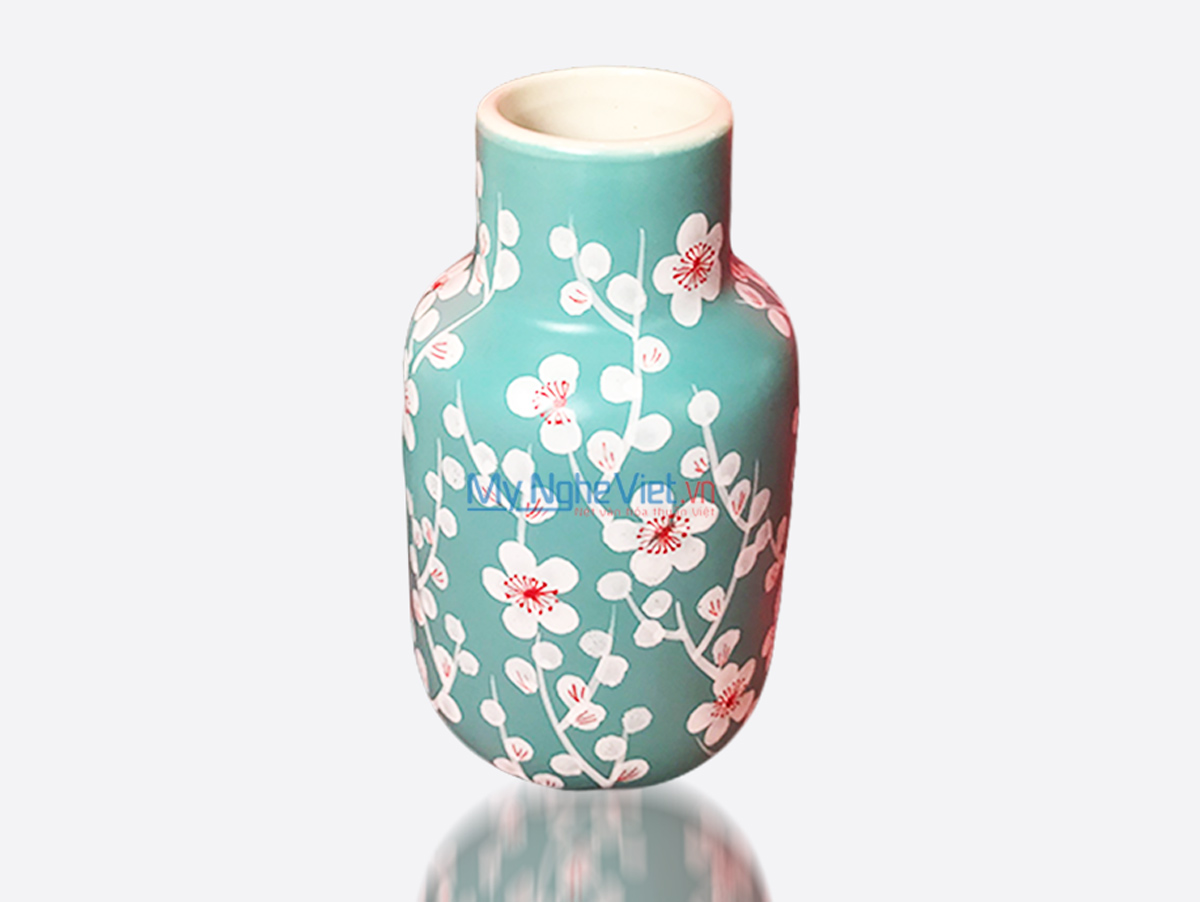 Hand Painted Flower Vase 7