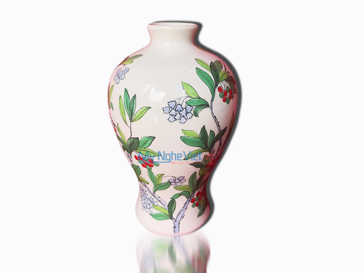 Hand Painted Flower Vase 1