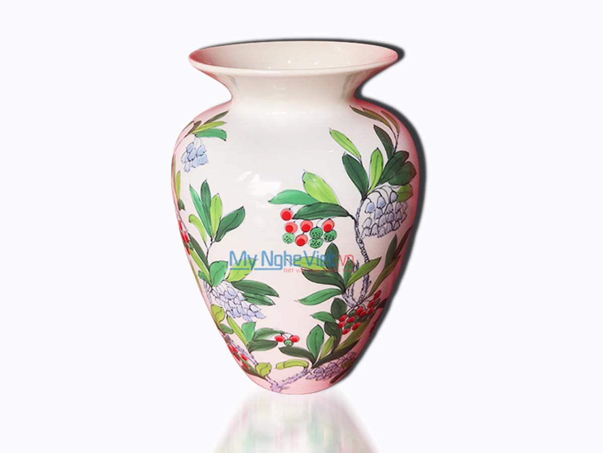 Hand Painted Flower Vase 2