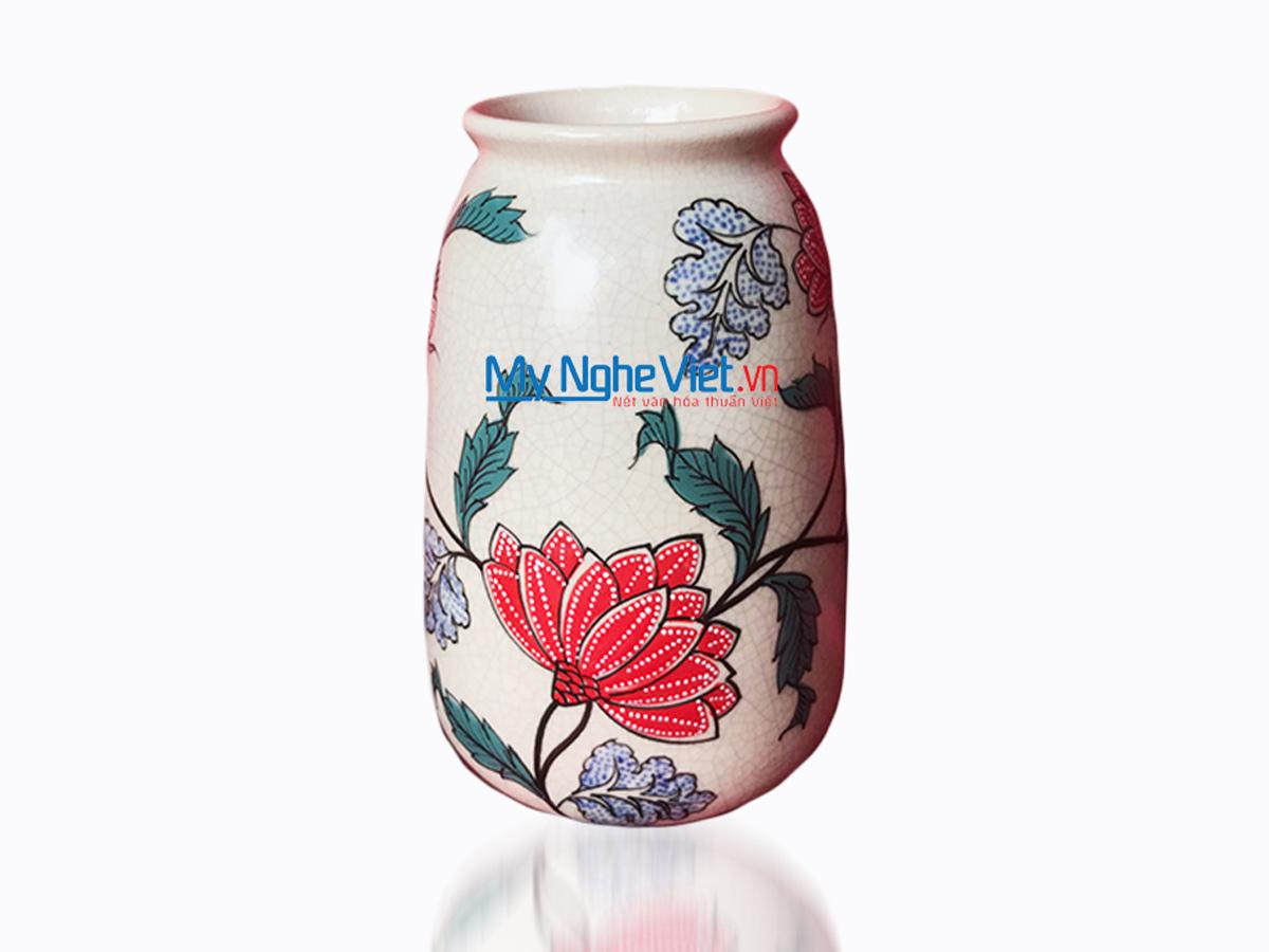 Hand Painted Flower Vase MNV-LHG2510