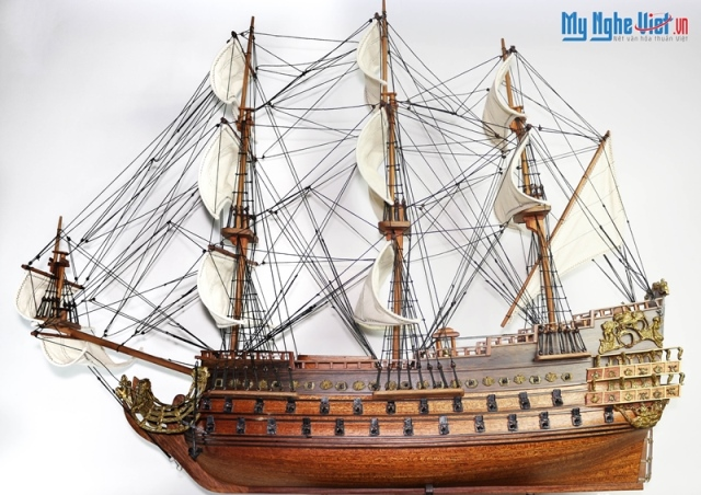 Le Soleil Royal Ship Model (Body 80cm) - MNV-TB21
