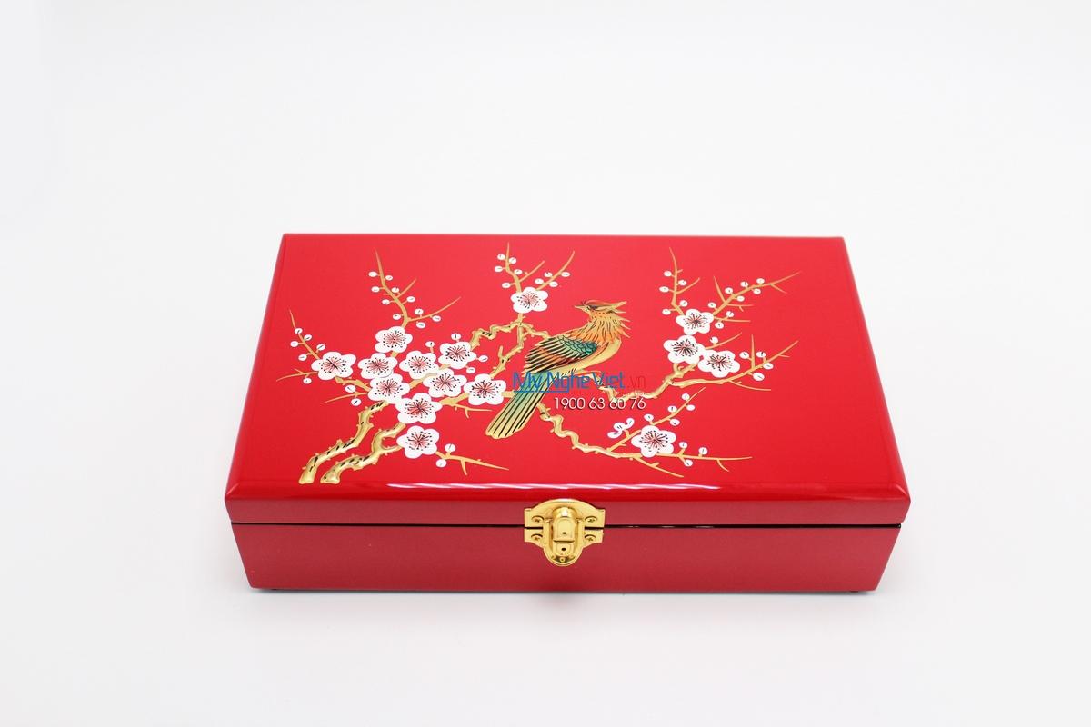 Lacquer Jewellery  Box - MNV-SPCC019-2