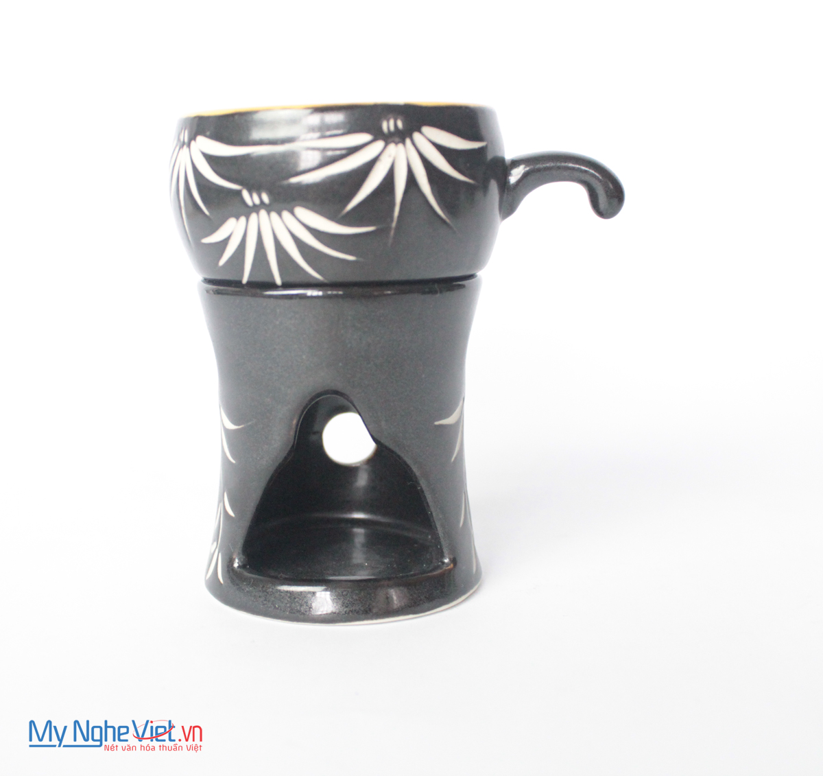 Coffee Stove with Bamboo pattern MNV-BD01