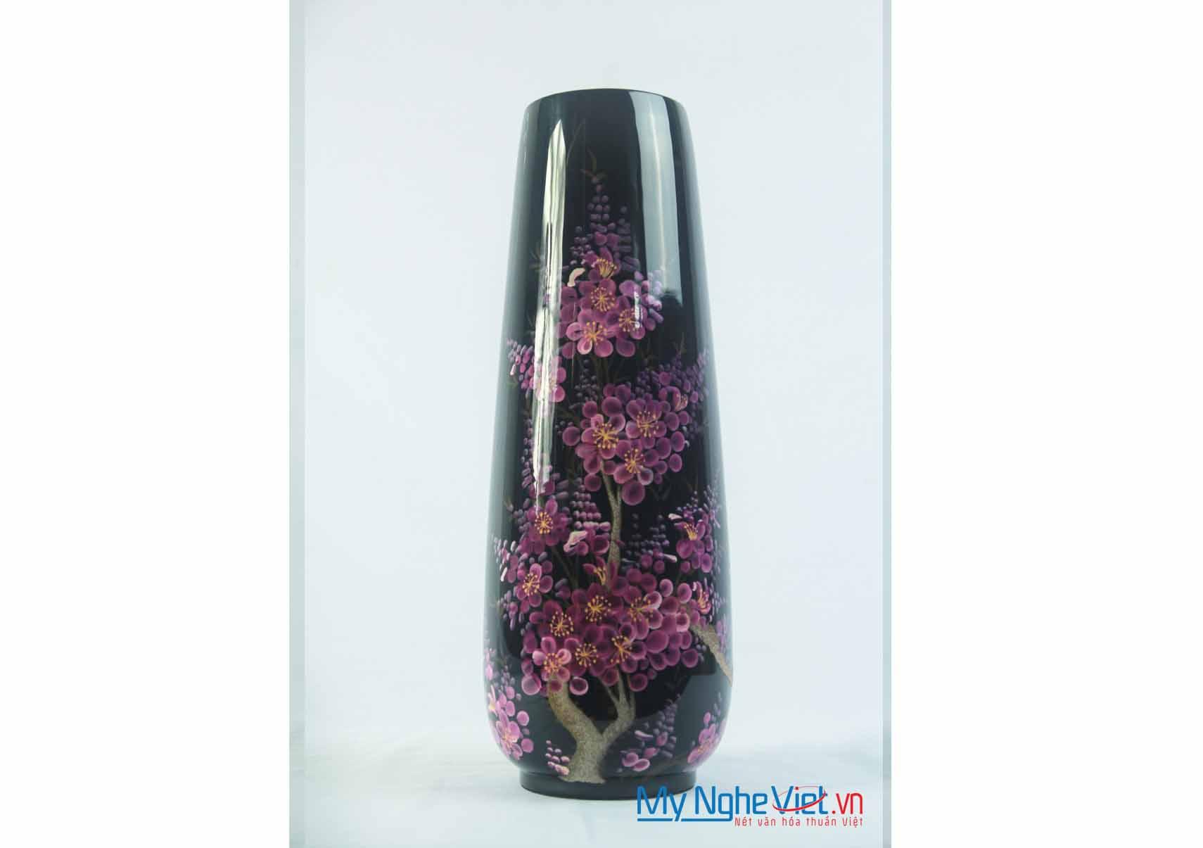 Lacquer Flower Vase MNV-LHSM106