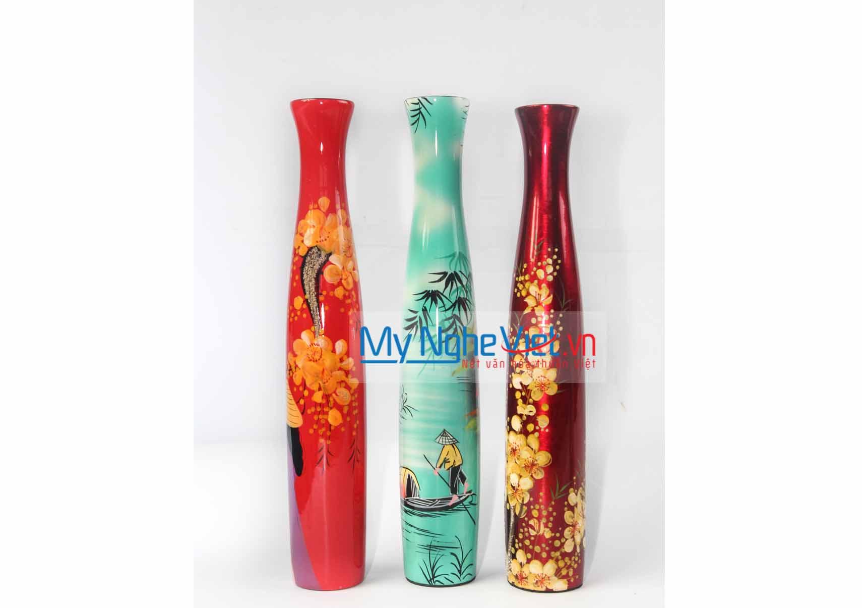 Lacquer Flower Vase MNV-LHSM41