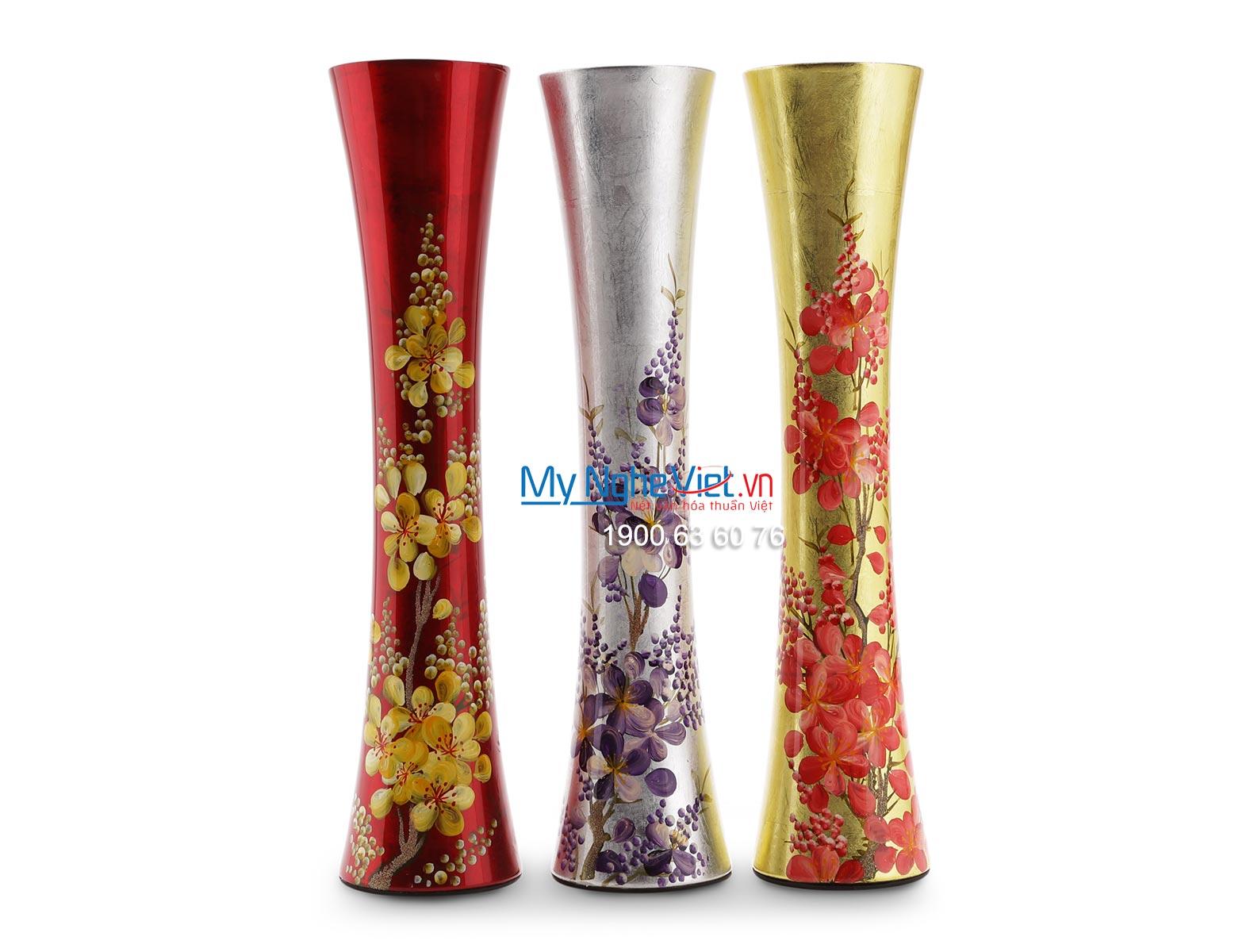 Lacquer Flower Vase MNV-LHSM84-3