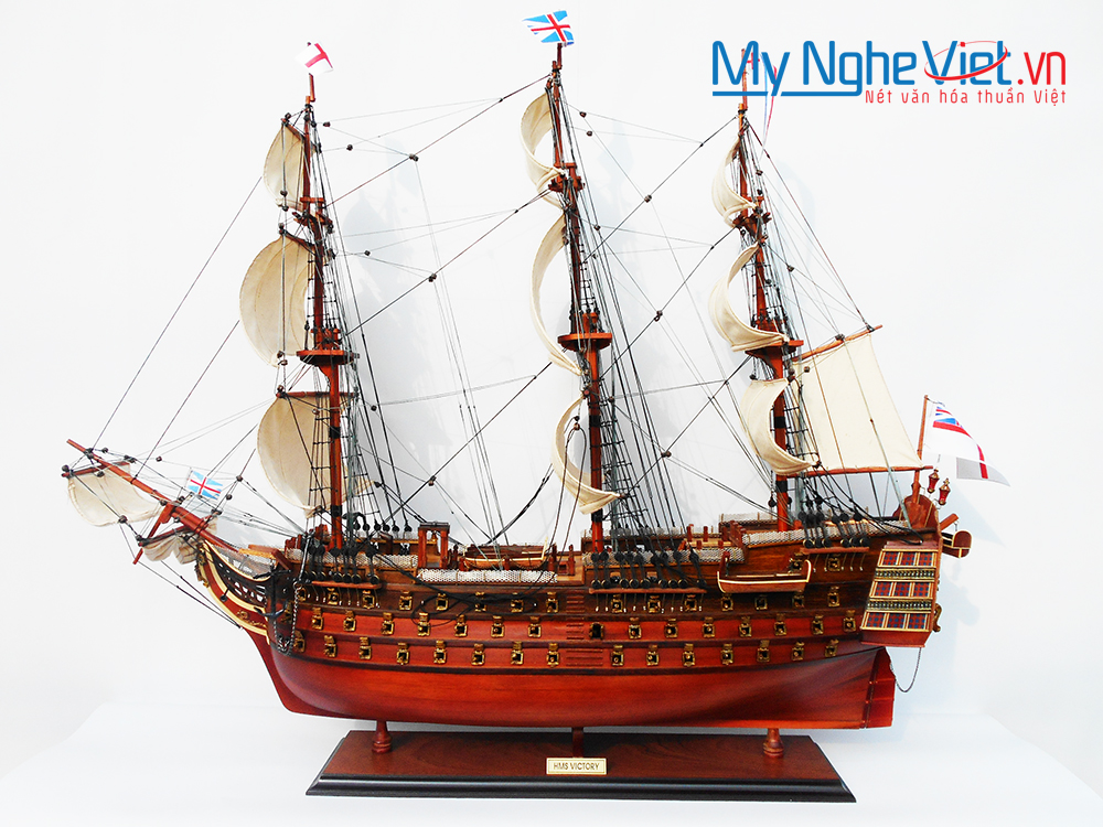 HMS Victory Ship Model 80cm - MNV-TSHVI80W