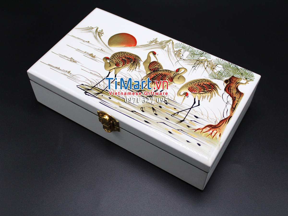 Jewellery box hand painting MNV-SPCC001