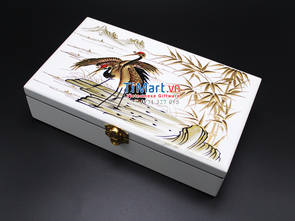 Jewellery box hand painting MNV-SPCC004