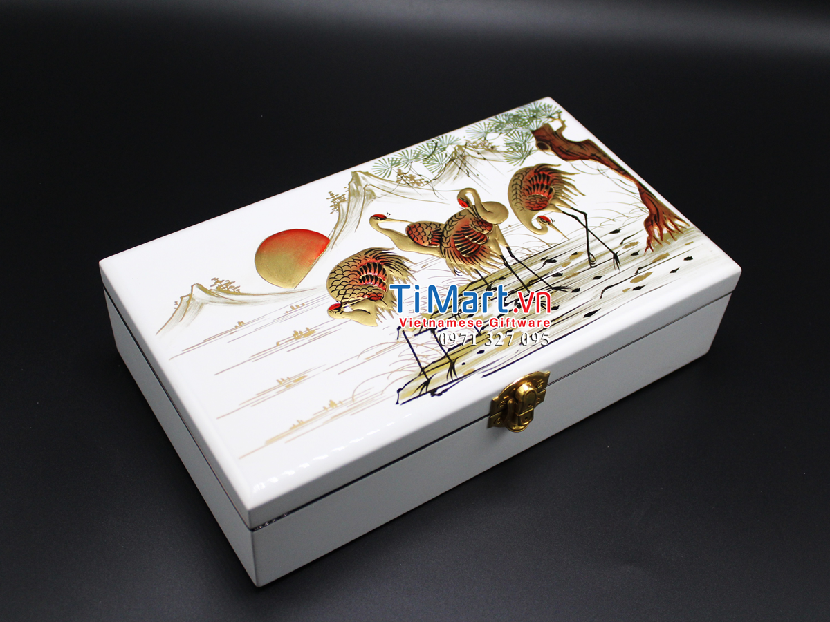 Jewellery box hand painting MNV-SPCC001