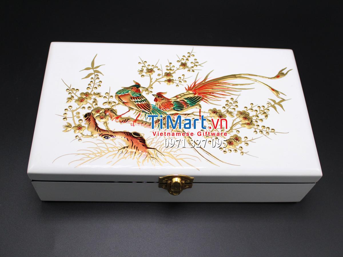 Lacquer Jewellery Box MNV-SPC003
