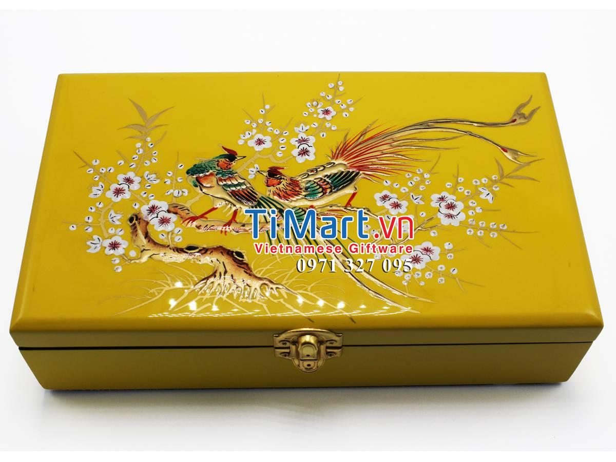 Lacquer Jewellery Box MNV-SPC003-1