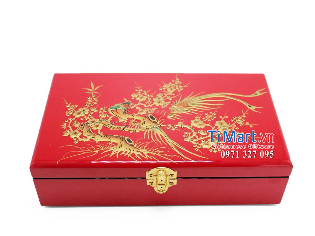 Lacquer Jewellery Box MNV-SPC003-3