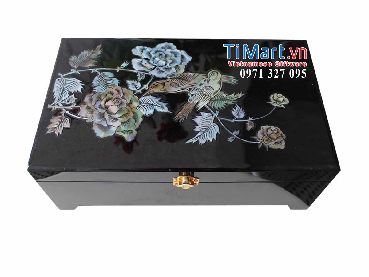 Lacquer Jewellery Box MNV-HTN46