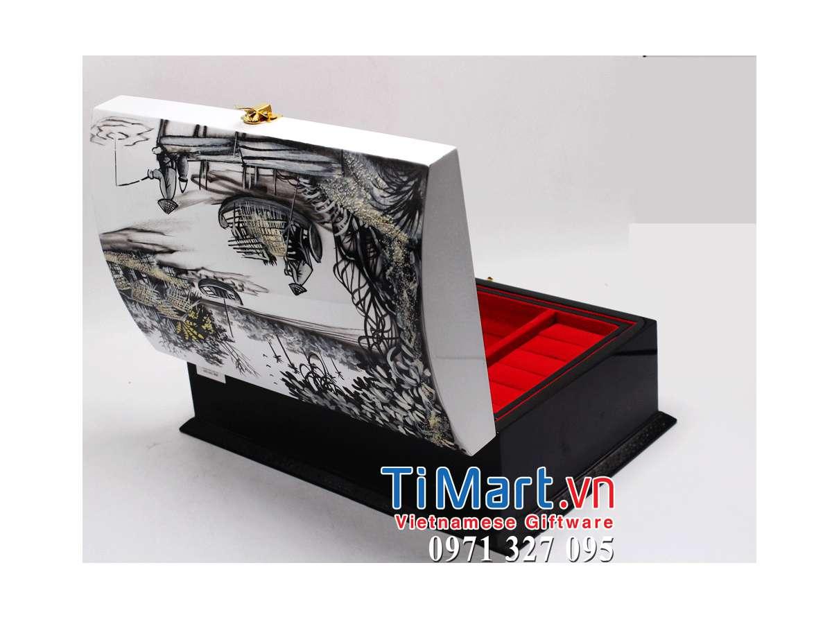 Lacquer Jewellery Box MNV-HTSTT001-4