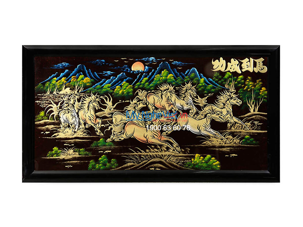 Lacquer Painting Ma Dao Truy Phong MNV- SMA712
