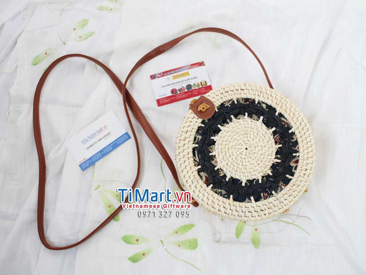 Woven Rattan Bag MNV - TSCD03