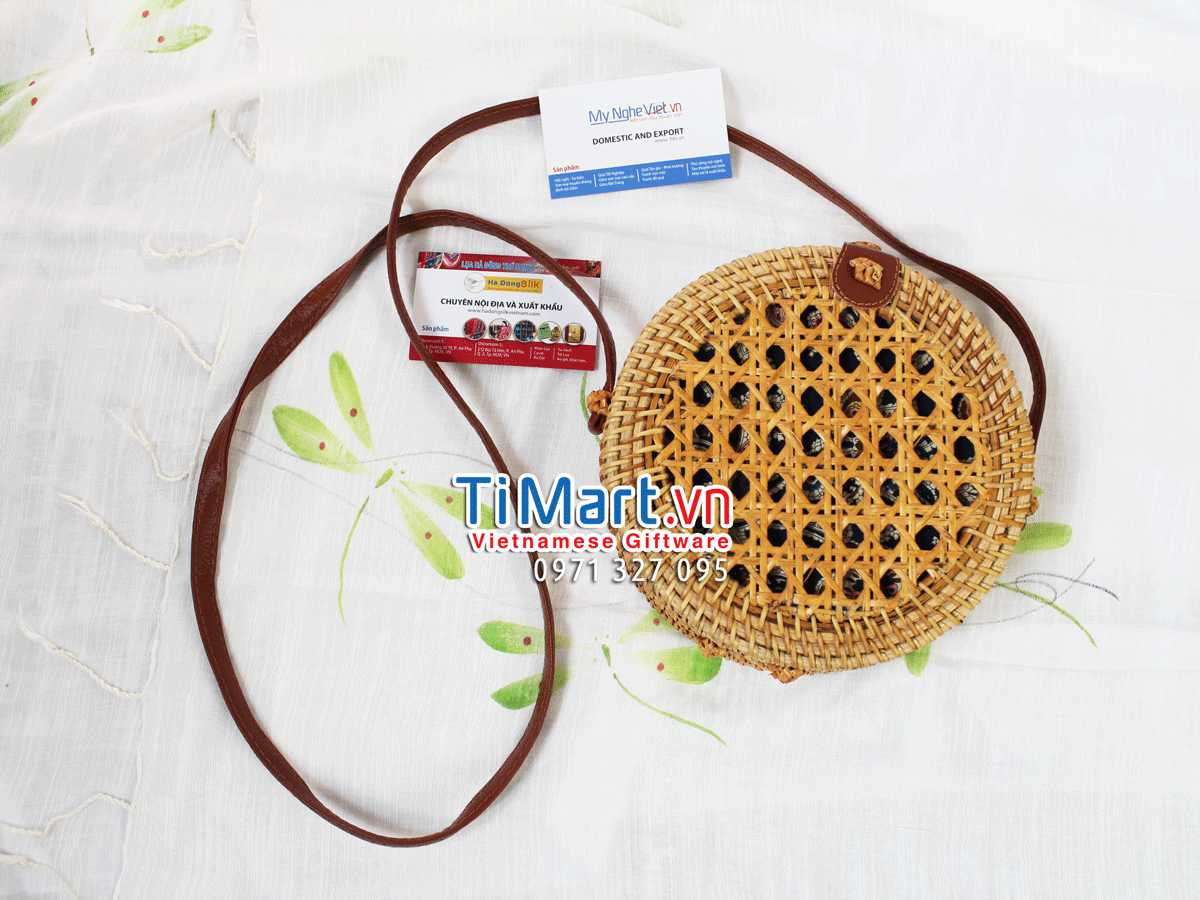 Woven Rattan Bag MNV - TSCD07