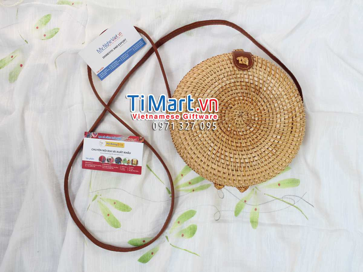 Woven Rattan Bag MNV - TSCD11