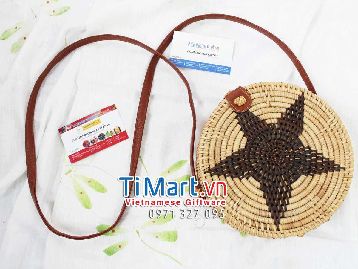 Woven Rattan Bag MNV - TSCD12