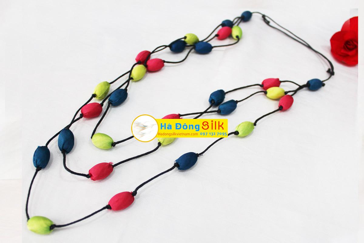 Silk Thread Necklace - MNV-VBD01